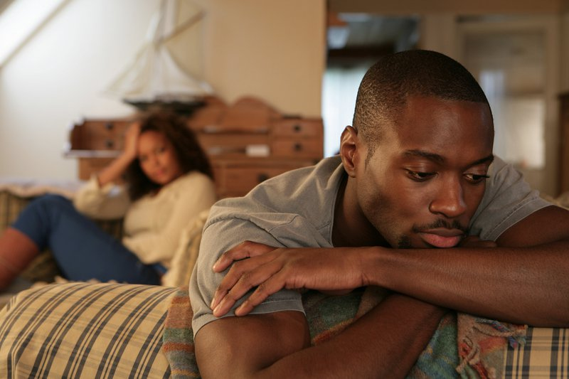 Sad-black-man-doesn't-want-sex-black-woman-frustrated